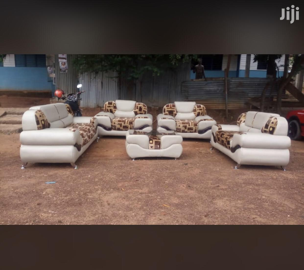 Quality Leather Room Sofa Furniture With Center Table