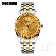 Skmei Gold Chain Watch | Watches for sale in Greater Accra, Achimota