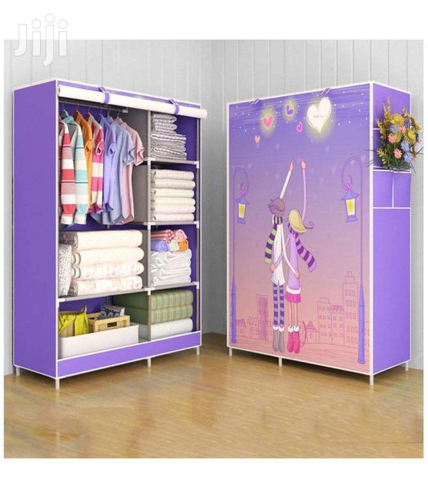 Archive: 2 In 1 Kids Foldable Wardrobe