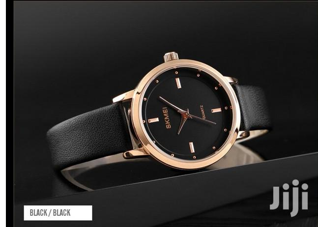 Skmei Leather Watch | Watches for sale in Achimota, Greater Accra, Ghana