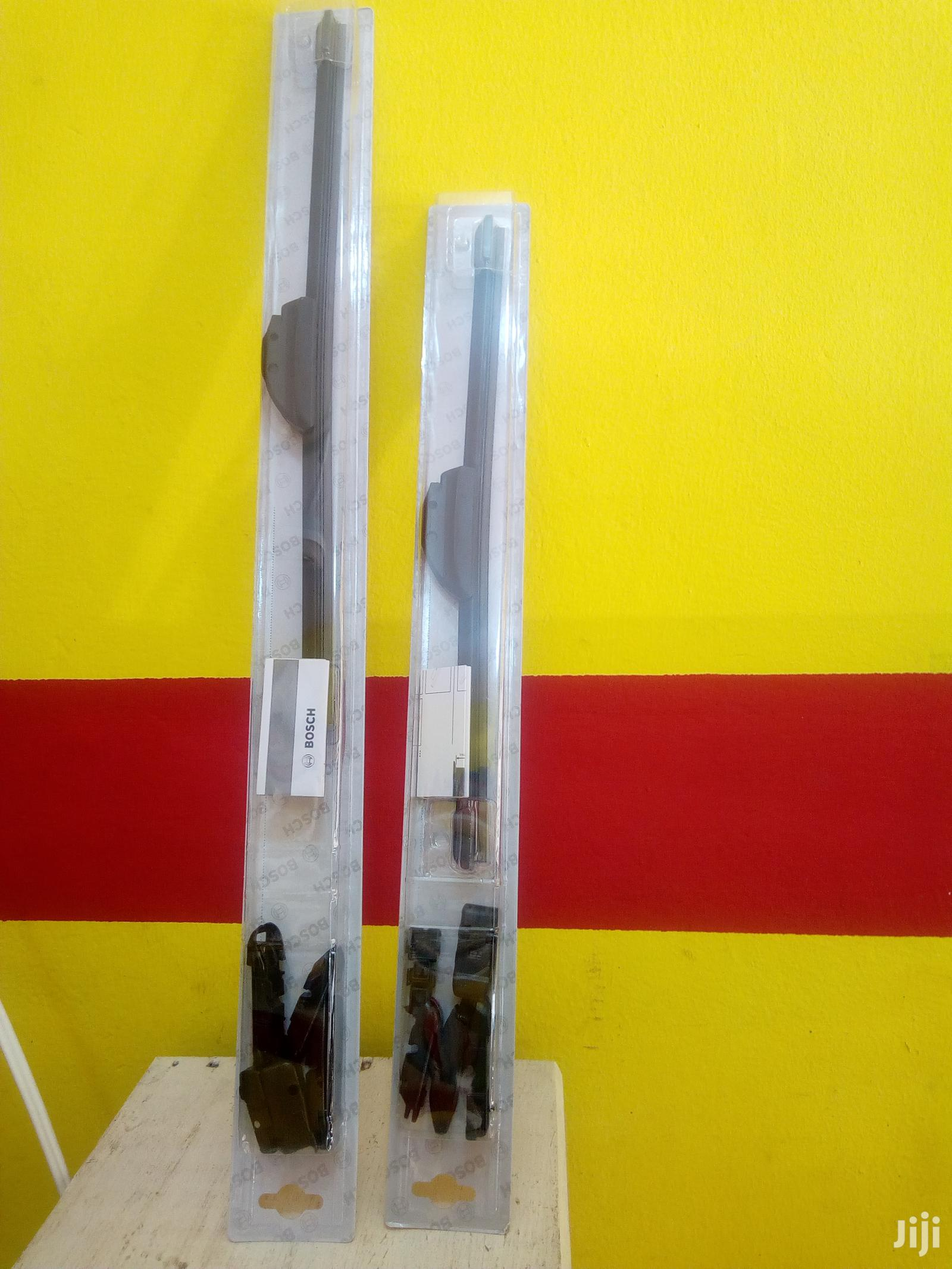 Bosch Wiper Blades For Cleaner Windscreen Glass + Delivery Nationwide | Vehicle Parts & Accessories for sale in North Kaneshie, Greater Accra, Ghana
