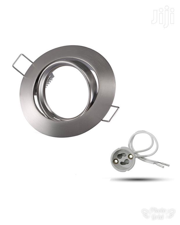 Nickel Spotlight Ring/Case