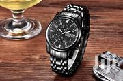 Stainless Black Analog Chrongraph Men's North Business Watch | Watches for sale in Greater Accra, Achimota