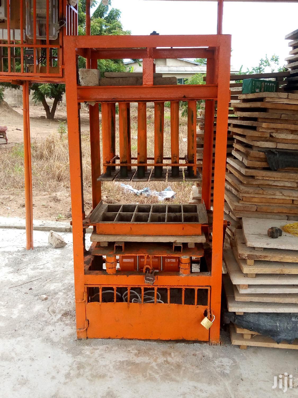 Pavement Machine And Block Making Machines