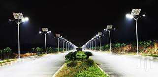 Smart Solar Powered Street Light With HD Camera