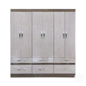 Wooden Wardrobe 6 Drawers Gris/Palha 0% | Furniture for sale in Greater Accra, Adenta