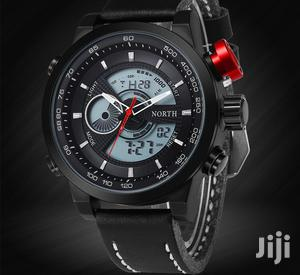 Luxury North Leather Analog LED Digital Quartz MEN'S Watch | Watches for sale in Greater Accra, Achimota