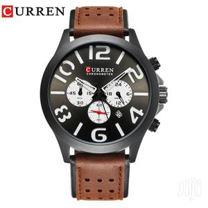 Luxury Sports Curren Chronograph Quartz Men Watches | Watches for sale in Greater Accra, Achimota