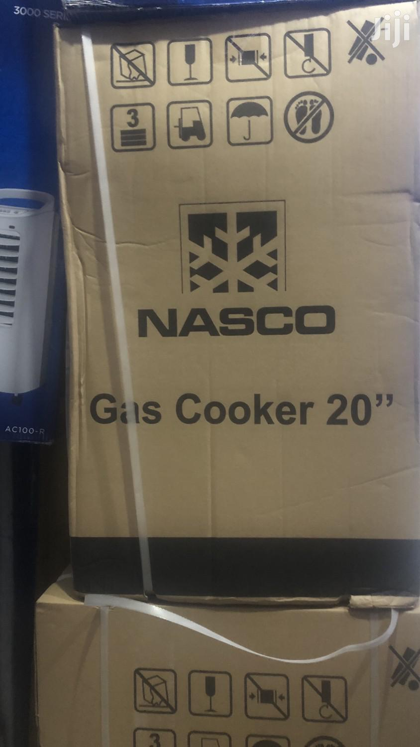 Nasco Gas Cooker 4 Burner With Oven