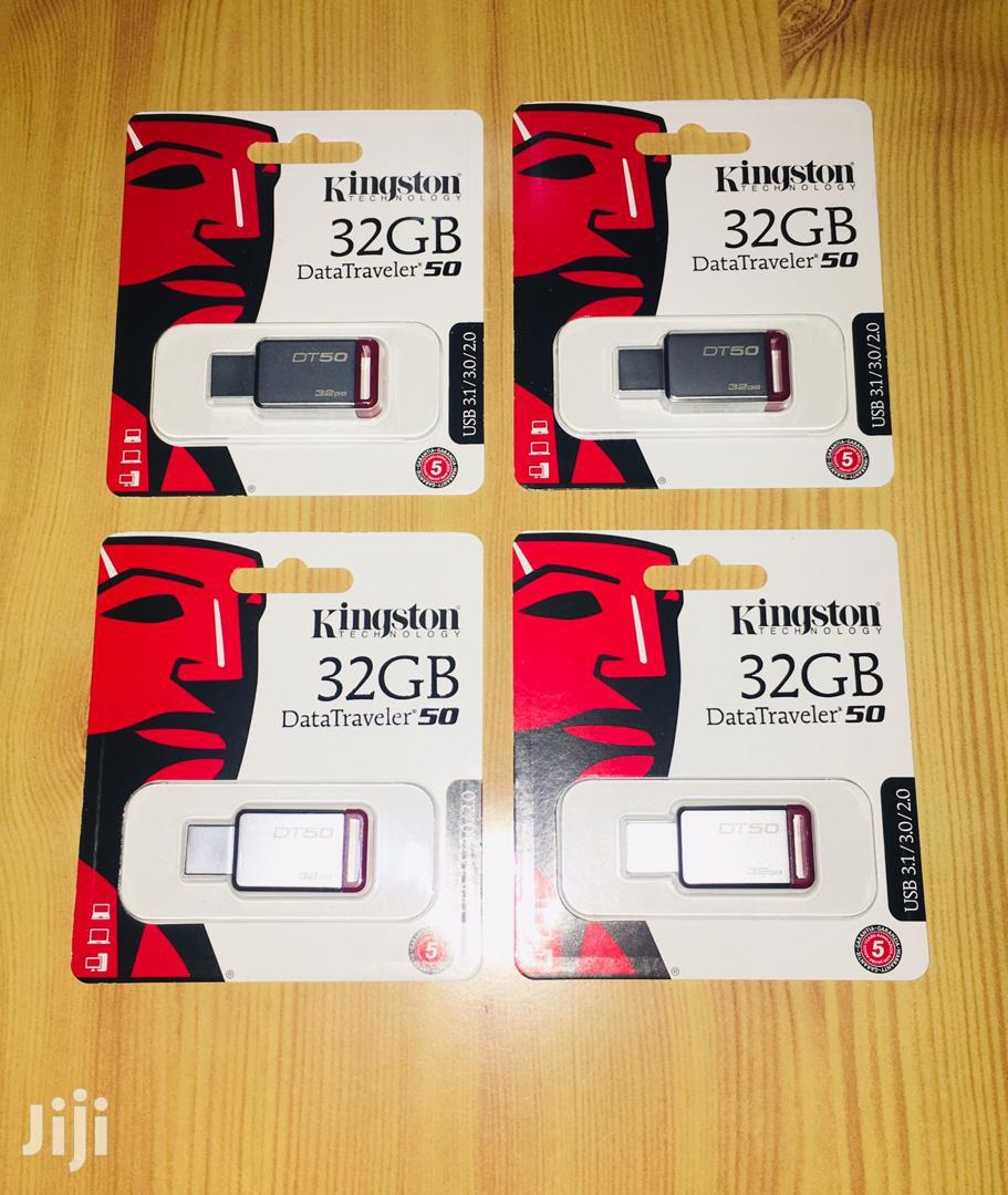 Genuine 32gb Kingston DT50 3.1 Drive | Computer Accessories  for sale in Dansoman, Greater Accra, Ghana