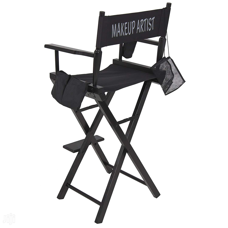 Professional Makeup Artist Directors Chair