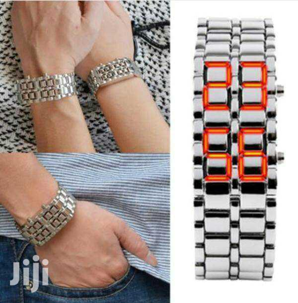 Archive: Digital LED Stainless Steel Watches