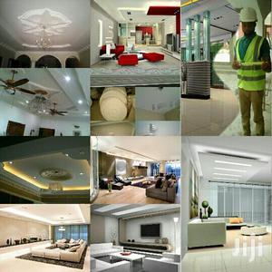 Plasterboard Ceiling. Atsu's Multi Millions Interior & Exterior Decor. | Building & Trades Services for sale in Greater Accra, Adenta