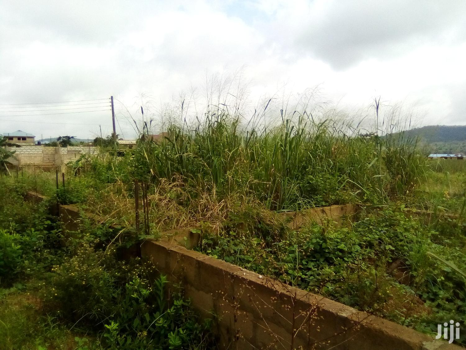 Half Plot For Sale At Satellite With Two Bedroom Foundation