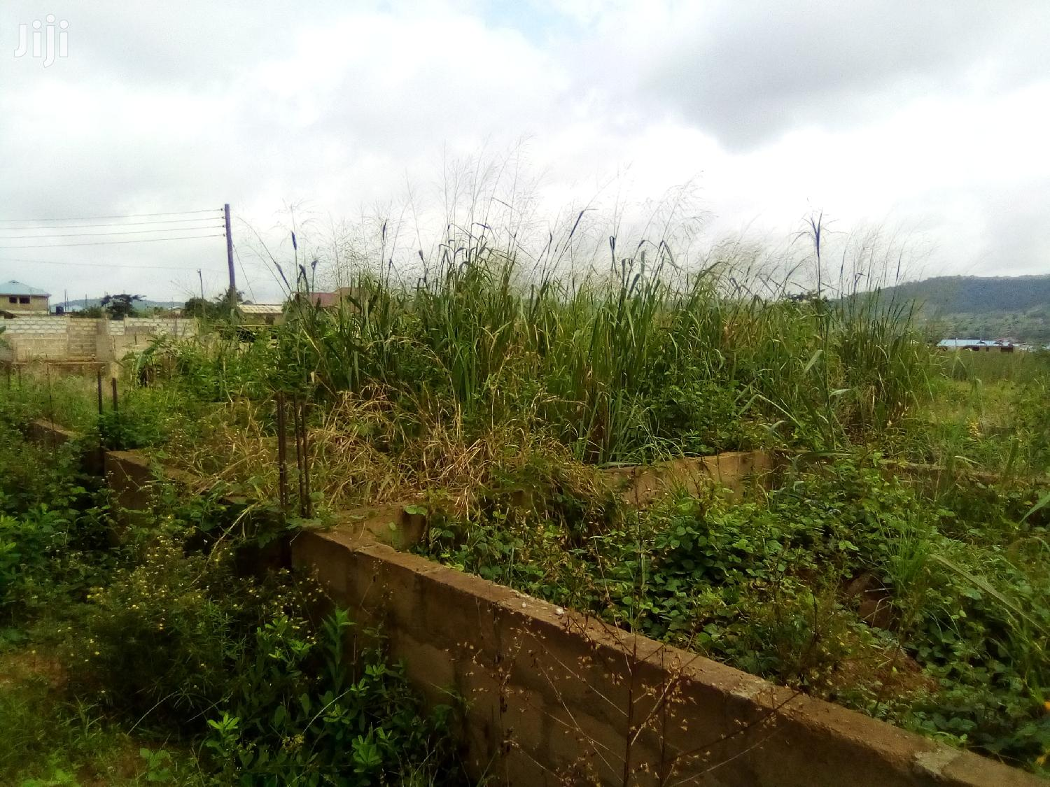 Half Plot For Sale At Satellite With Two Bedroom Foundation | Land & Plots For Sale for sale in Achimota, Greater Accra, Ghana