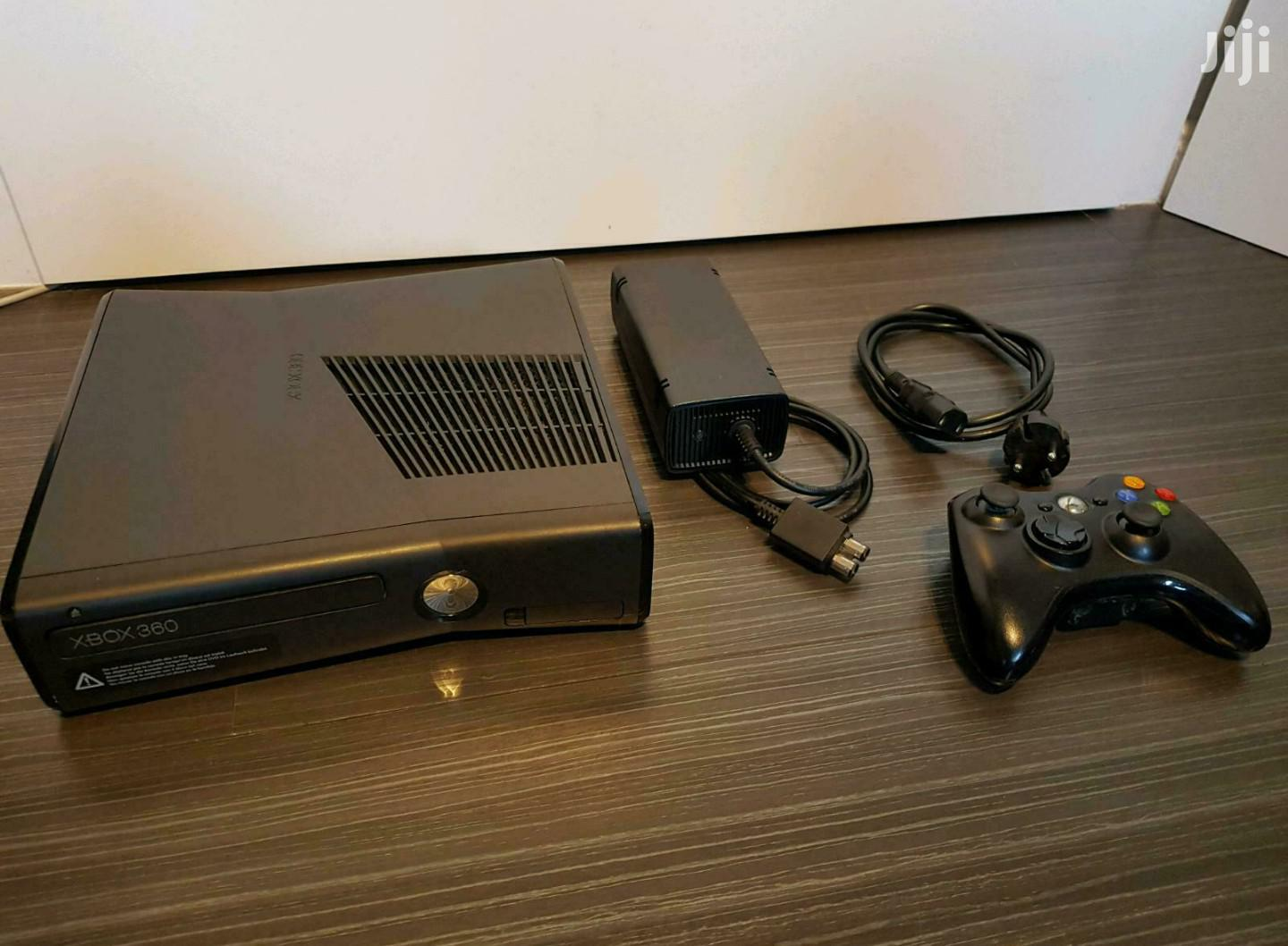 Xbox 360 Slim 250gb + 1 Controller | Video Game Consoles for sale in Alajo, Greater Accra, Ghana