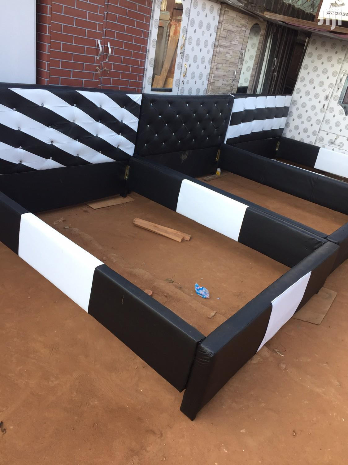 Quality Leather Beds for Sell.