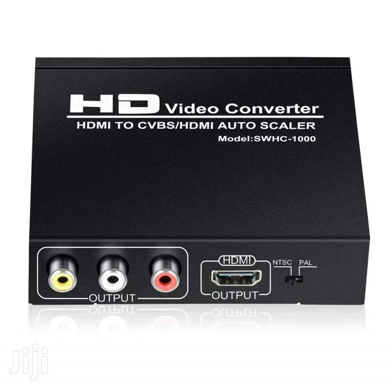 HD Video Converter.(Hdmi To Hdmi And Av Converter) | Accessories & Supplies for Electronics for sale in Alajo, Greater Accra, Ghana