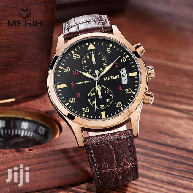 Archive: Chronograph Megir Business Watch