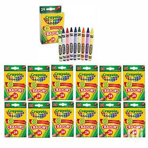 Crayola Crayons, 24 Ct. (1 Case Of 12 Packs)