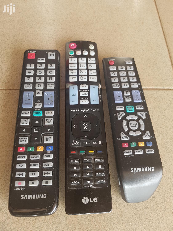 Original Samsung And LG Remote Controls