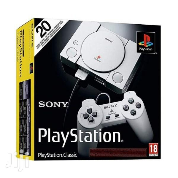 Playstation Classic, Official by Sony 2018   Video Game Consoles for sale in Accra Metropolitan, Greater Accra, Ghana