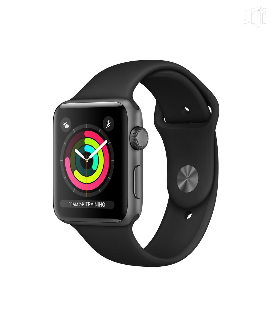 Apple Watch Series 3 GPS 38mm White Space Grey | Smart Watches & Trackers for sale in Darkuman, Greater Accra, Ghana