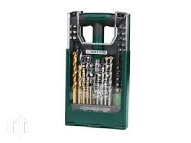 Parkside Drill Bit Set -50 Pcs PBBS2 A1 | Hand Tools for sale in Abelemkpe, Greater Accra, Ghana