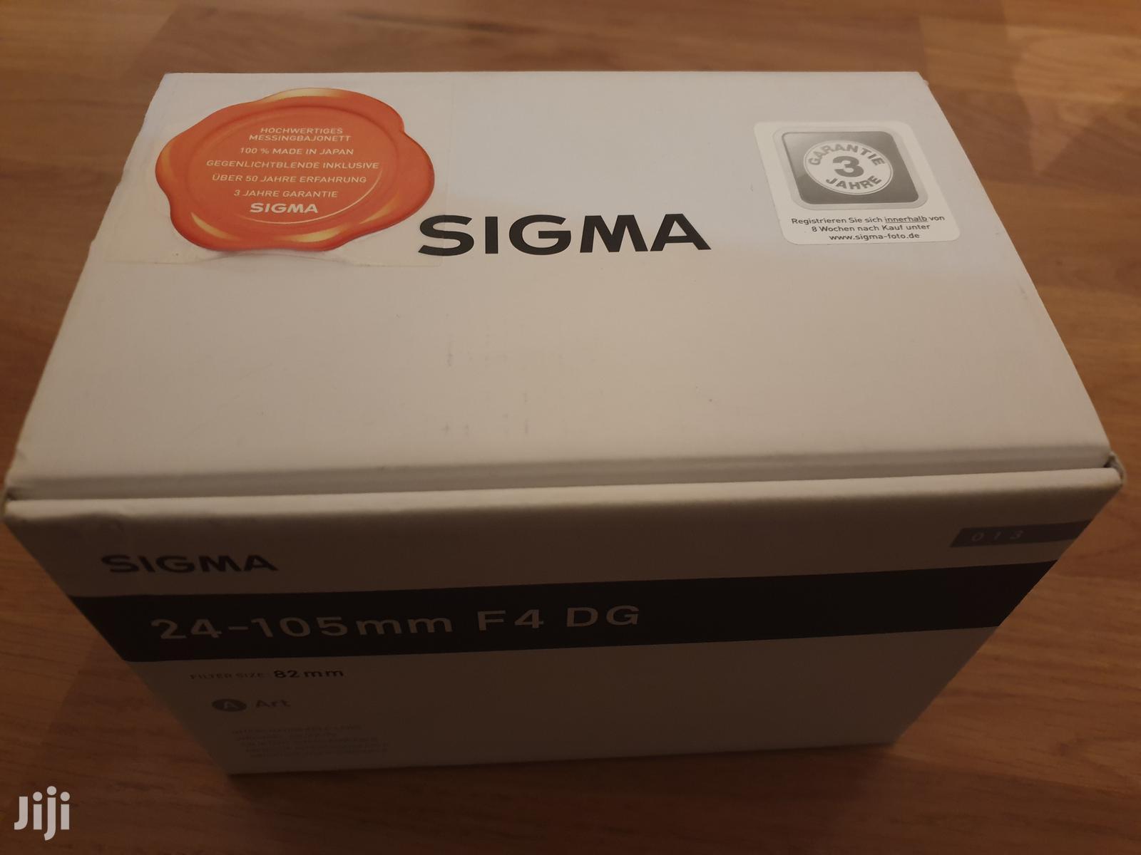 Canon Fit Sigma 24-105mm F4 Dg Art Lens