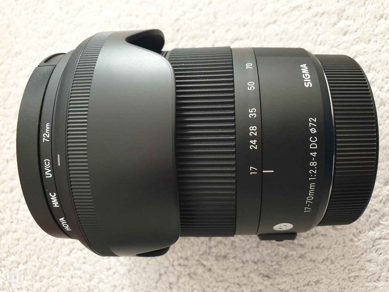 Canon Fit SIGMA 17-70mm F2.8-4 DC OS Contemporary Zoom Len