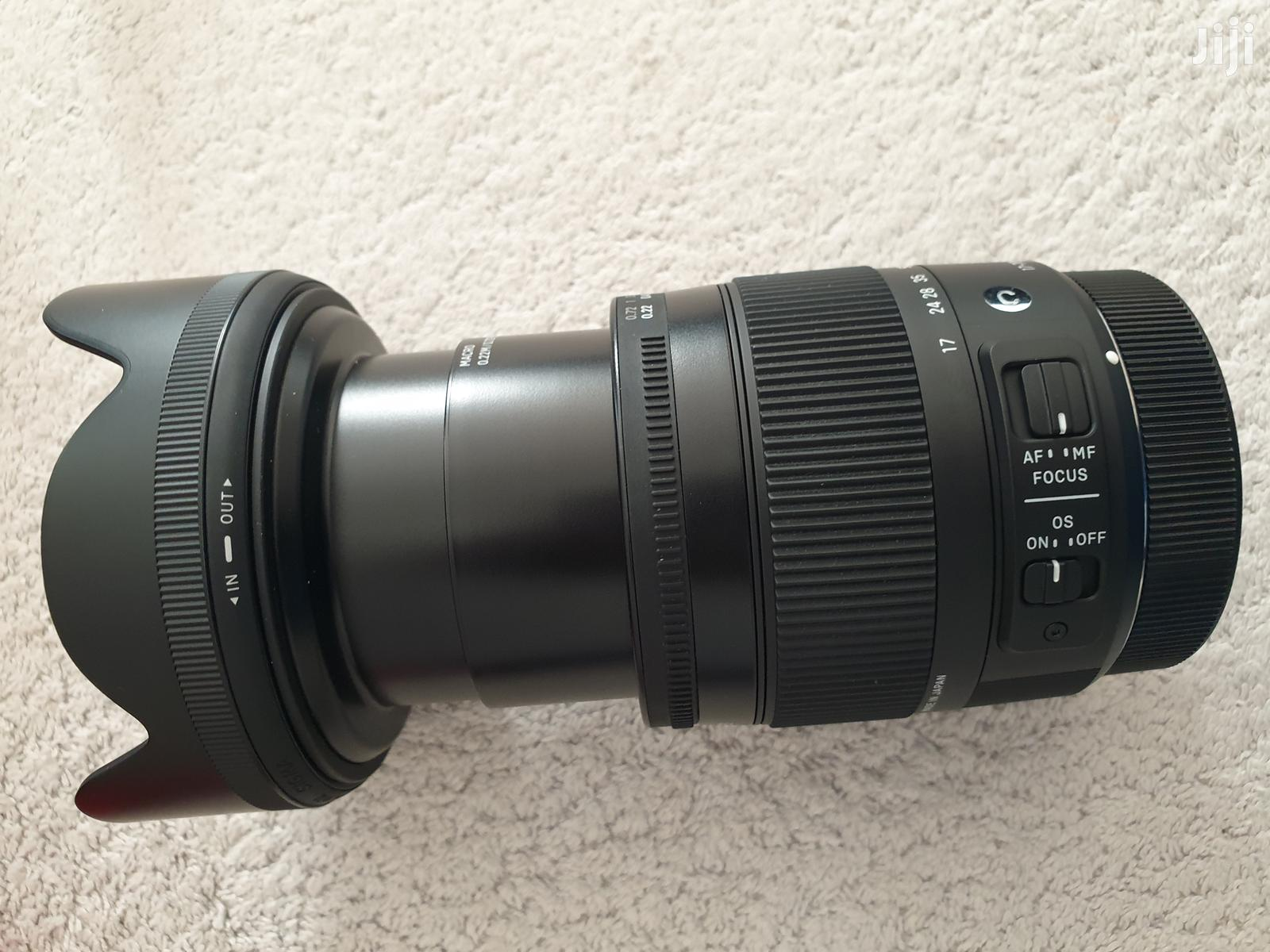 Canon Fit SIGMA 17-70mm F2.8-4 DC OS Contemporary Zoom Len | Accessories & Supplies for Electronics for sale in East Legon, Greater Accra, Ghana