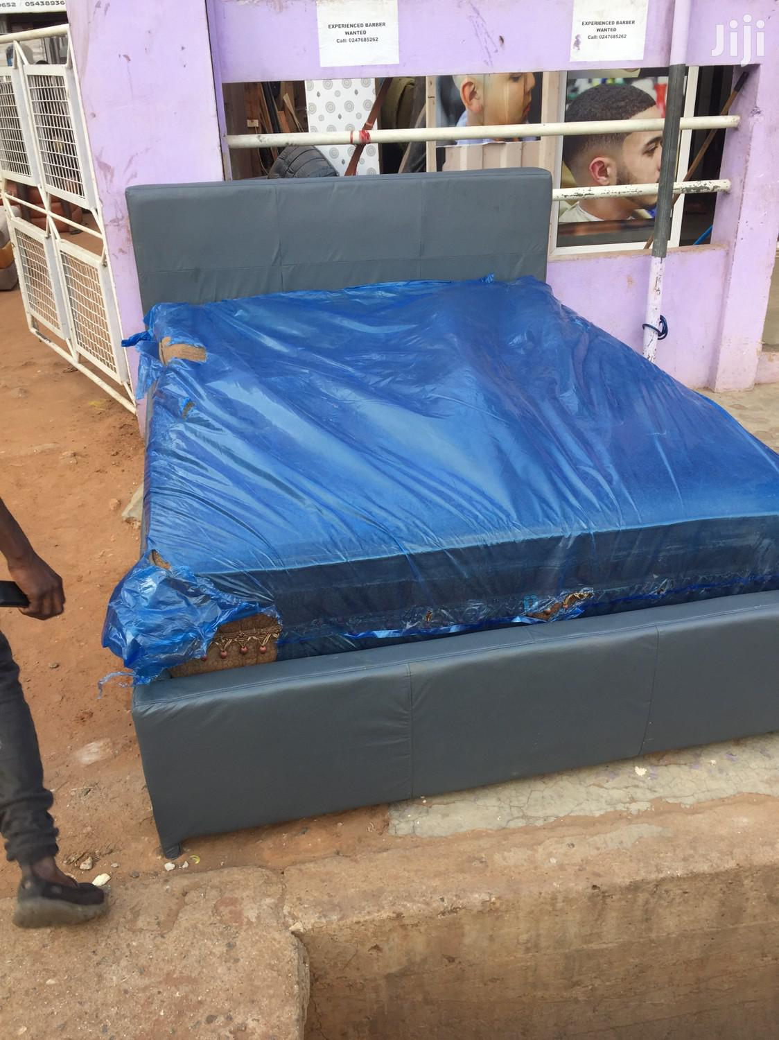 Archive: Authentic Double Bed With Foreign Mattress for Sell.