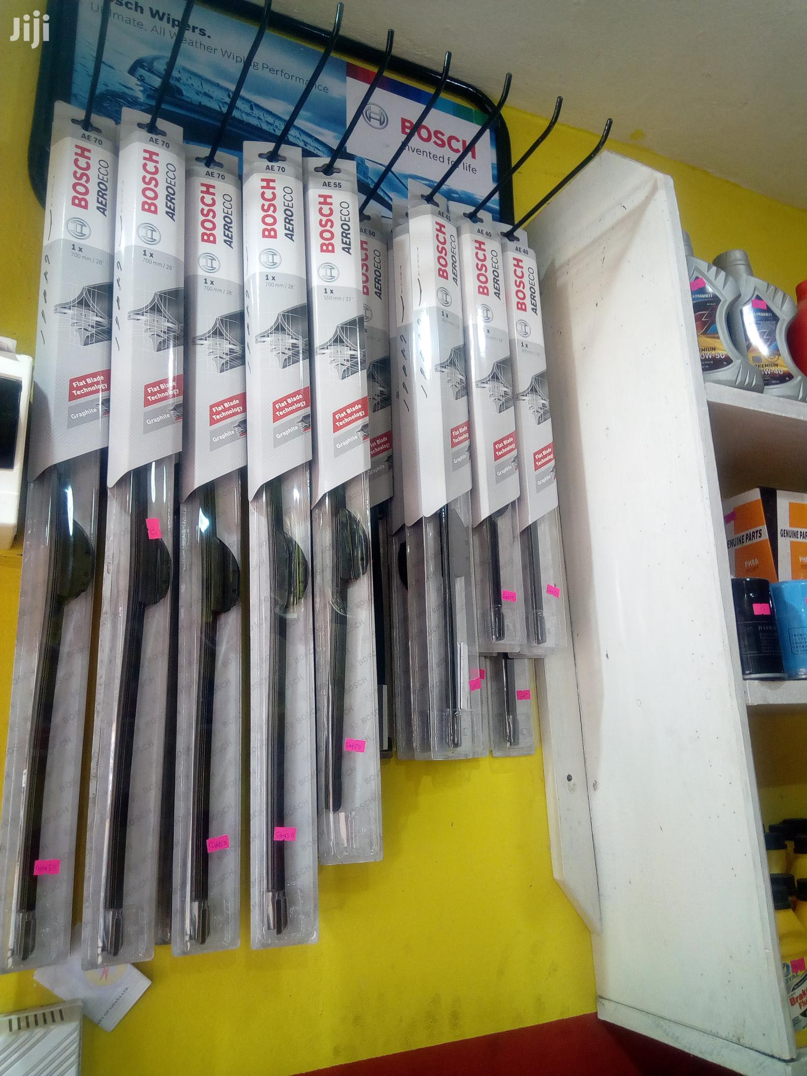 Bosch Wiper Blades Cleans Water On Windscreen Well | Vehicle Parts & Accessories for sale in North Kaneshie, Greater Accra, Ghana