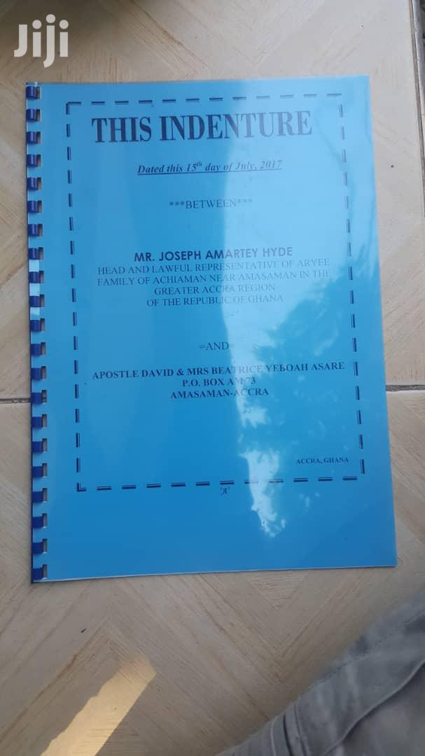 One Plot Of Land 4 Sale Amasaman | Land & Plots For Sale for sale in Adenta Municipal, Greater Accra, Ghana