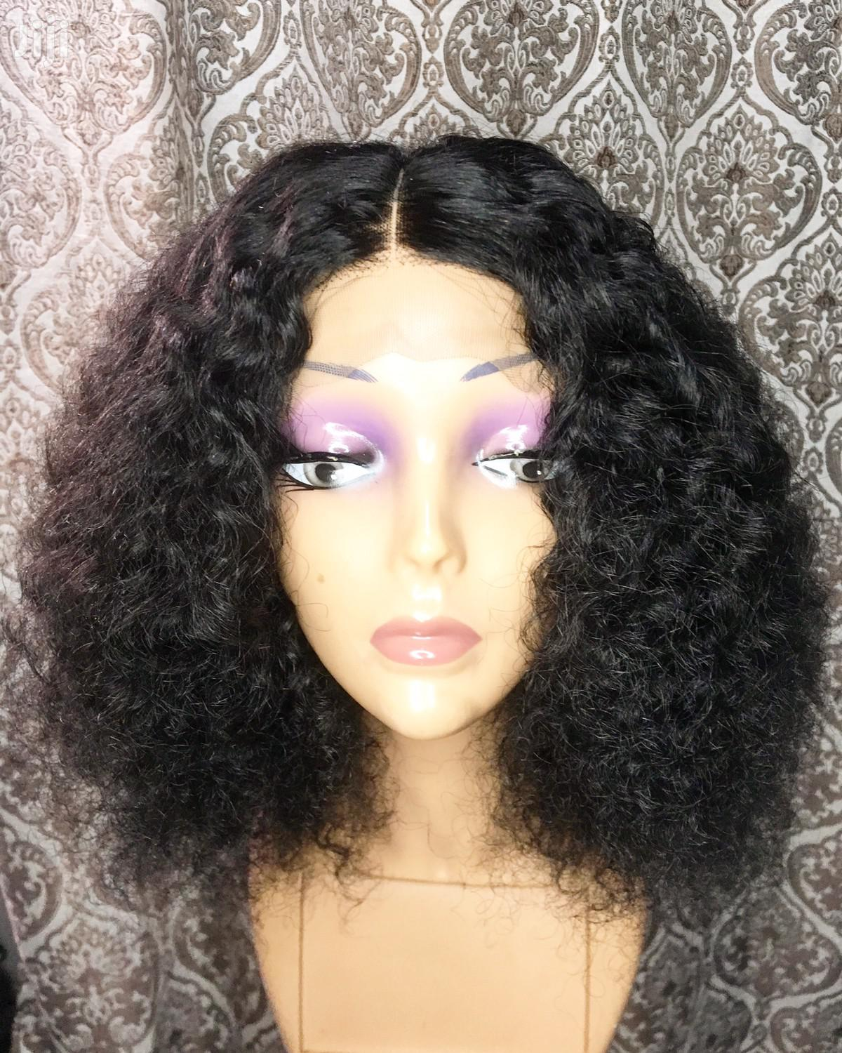 "Archive: Eurasian Wet Curls 14"" With Closure"