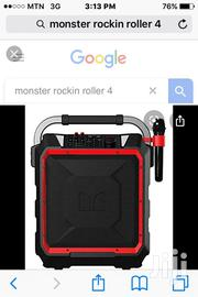 Monster Rocking Roller 4 Portable Bluetooth Speaker   Audio & Music Equipment for sale in Greater Accra, North Kaneshie