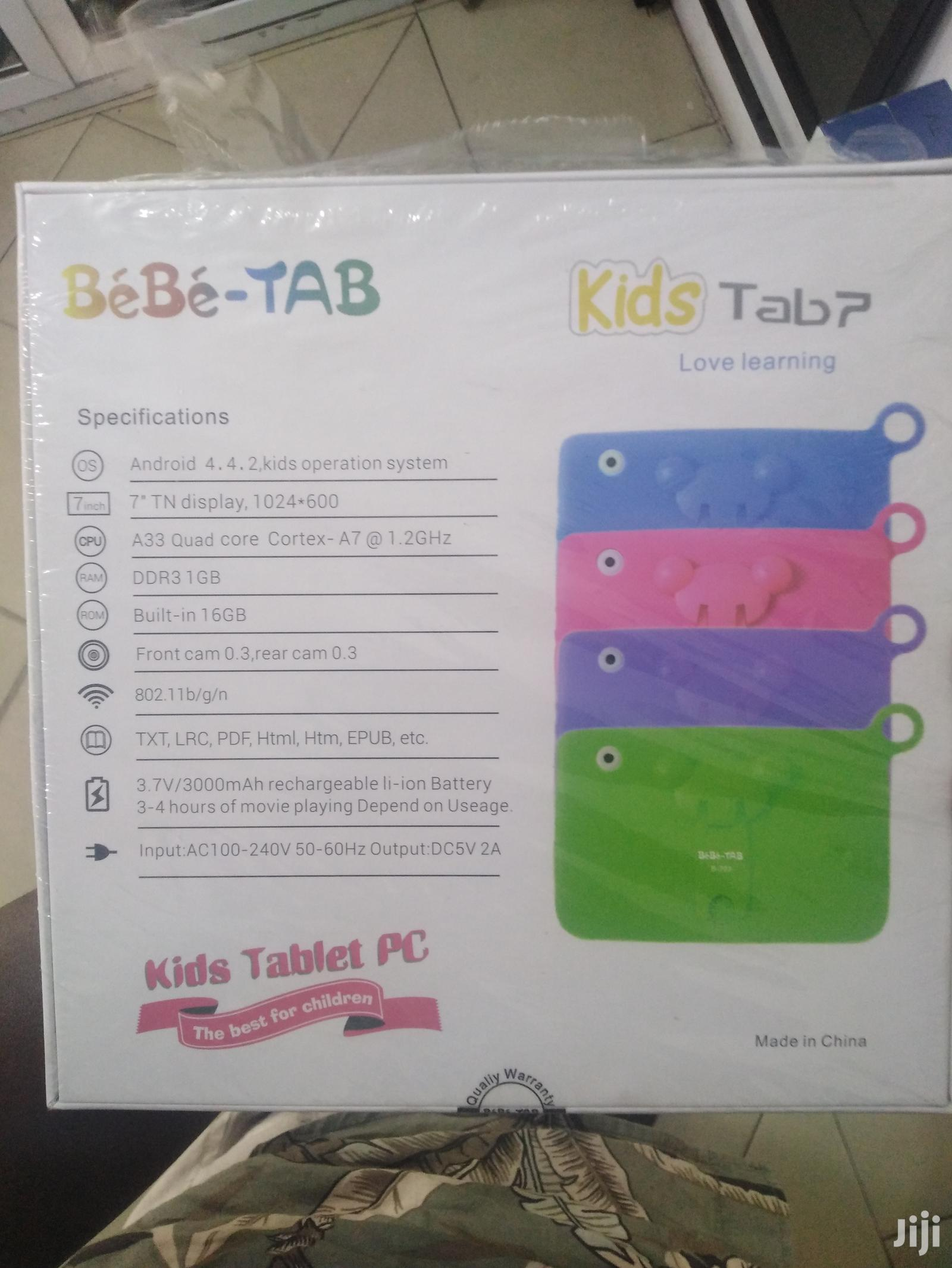 Bebe-Tab B703 Kids Educational Tablets | Toys for sale in Asylum Down, Greater Accra, Ghana