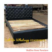 TURKISH Black Leather BED ❤ 🖤 | Furniture for sale in Greater Accra, Avenor Area