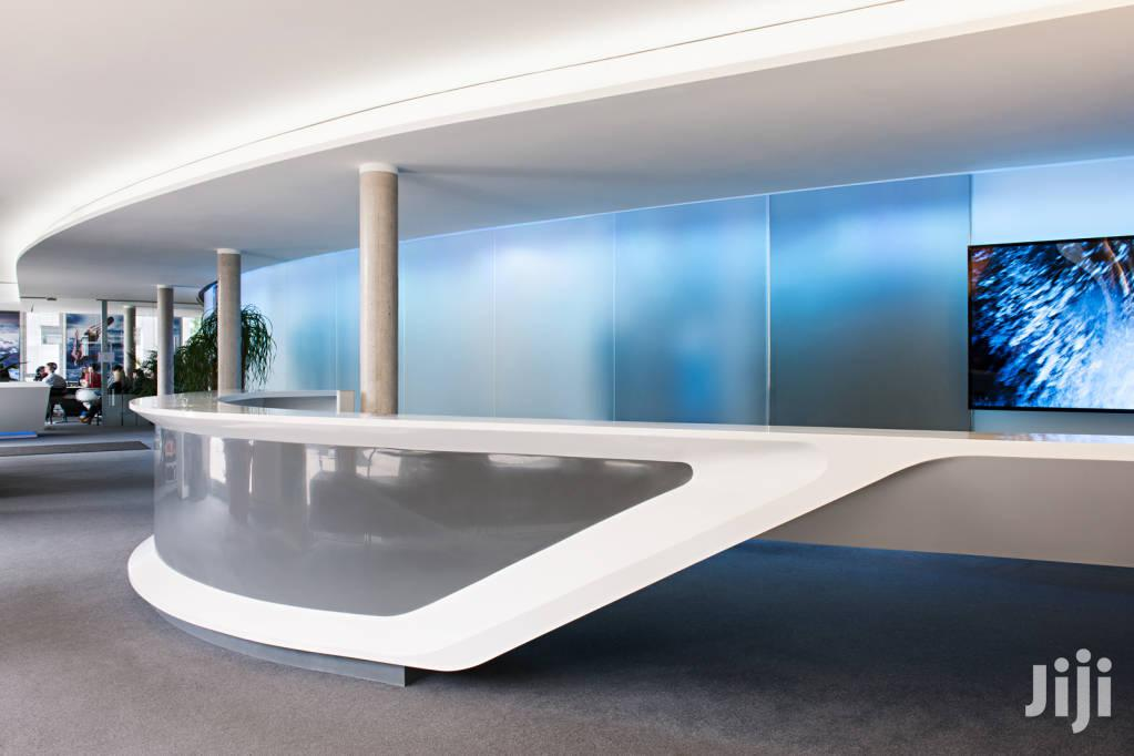 Archive: Customised Office Reception Desks And General Fabrication