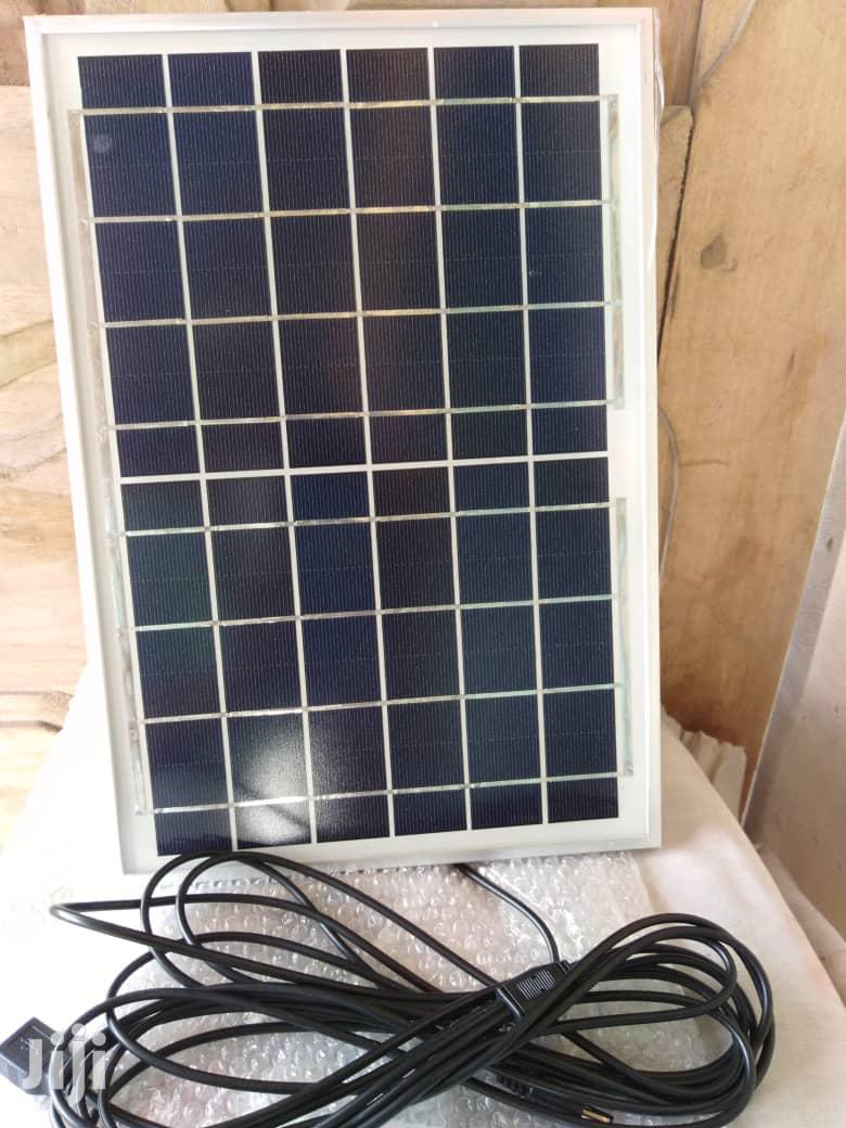Rechargeable Solar Lamp Panel