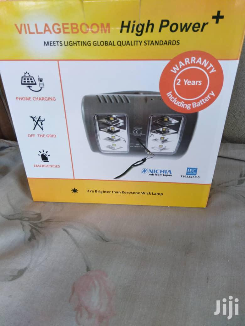Rechargeable Solar Lamp Panel | Solar Energy for sale in East Legon, Greater Accra, Ghana