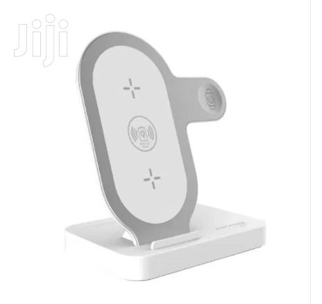 Promate Aurabase Fast Wireless Charging Stand for Apple iPhone Watch | Smart Watches & Trackers for sale in Accra Metropolitan, Greater Accra, Ghana