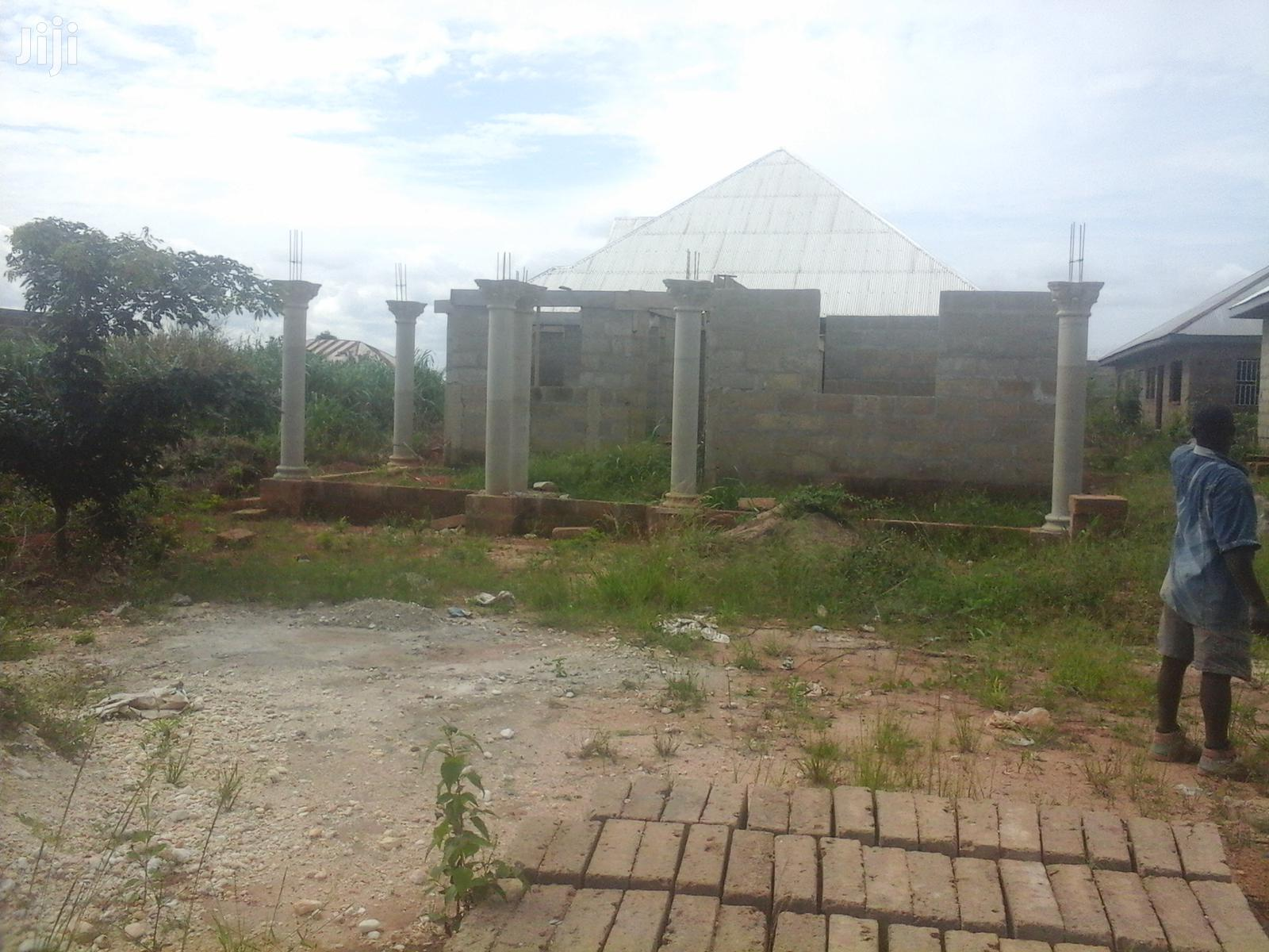 Archive: An Uncompleted House for Sale at Akyeremade, Kumasi