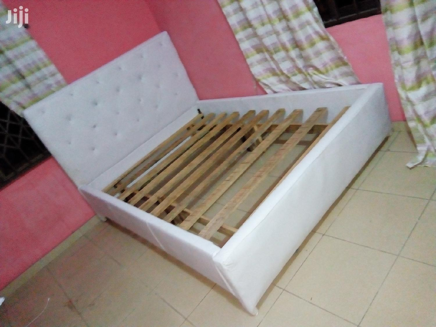 Archive: Pure White Double Bed for Sell With Free Delivery