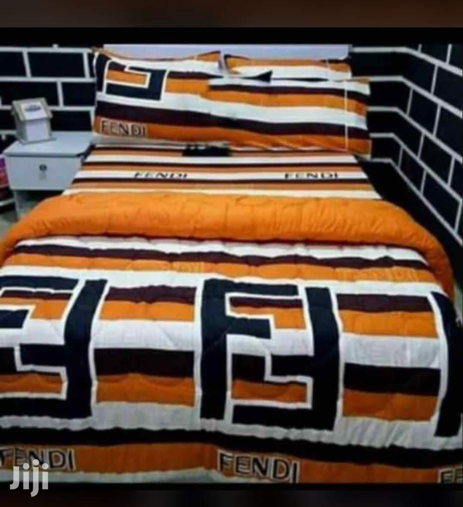 Double Size Bedsheet With Four Pillow Cases And A Duvet