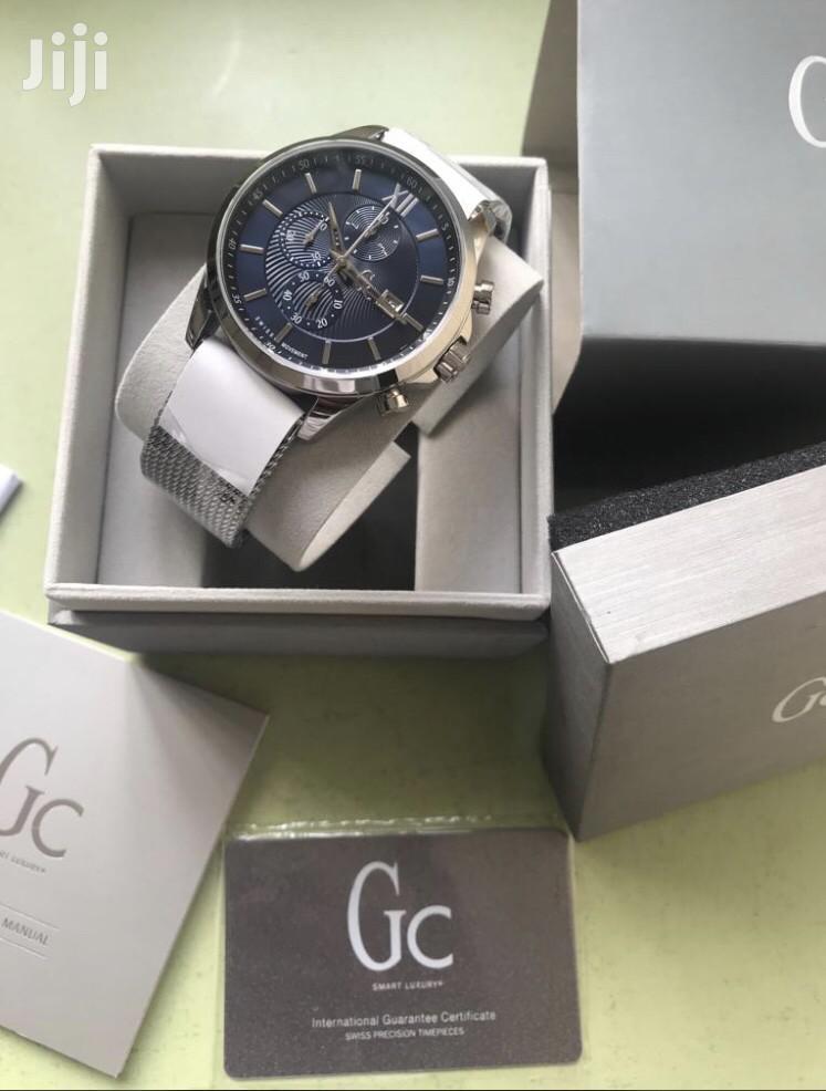 Gc Watch Mesh Silver Chain Watch