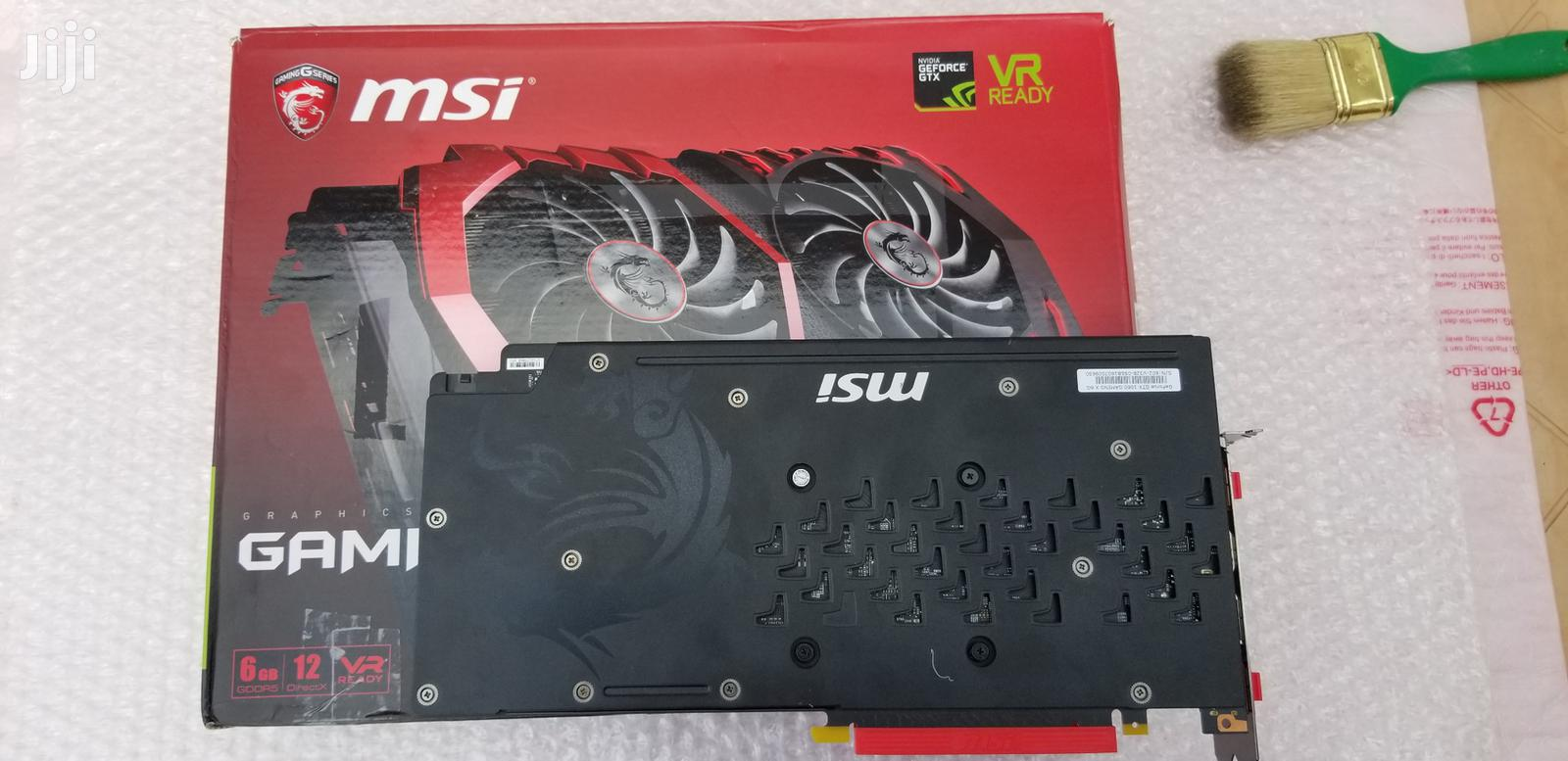 Archive: Msi Gtx 1060 6Gb Graphic Card