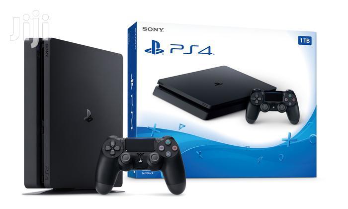 Archive: Sony Playstation 4 Slim Console - 1TB Jet Black