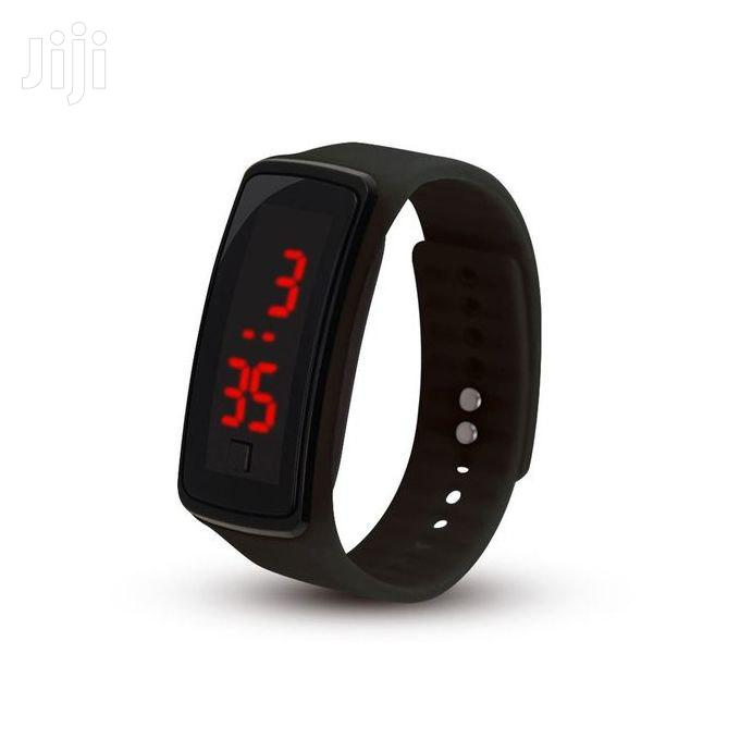 Silicon Led Watch X 3