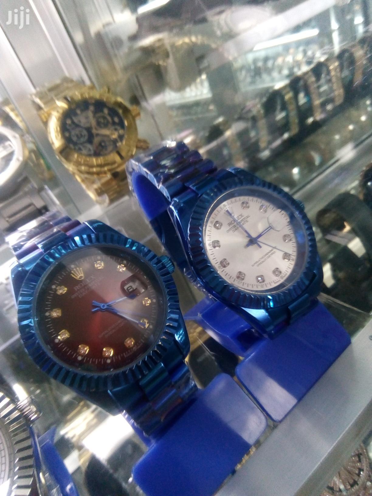 Coloured Rolex